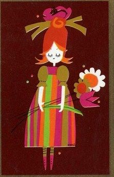 70's Print---- Wendy Schultz via Amy Sauceda onto Art.