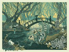 Swirling Illustrations by James R. Eads