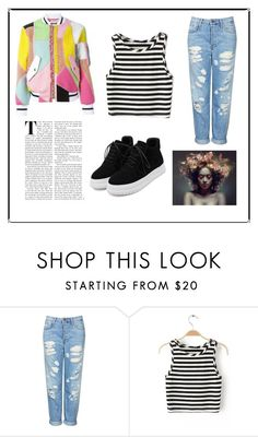 """Untitled#46"" by hanniken ❤ liked on Polyvore featuring Topshop"