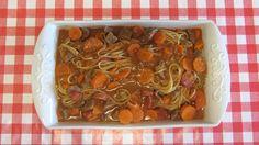 A Casinha das Bolachas: Carne Guisada com Esparguete