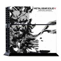 METAL GEAR 5 Skin For Playstation 4 PS4 Console Controller