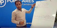 """El PP de Fuenlabrada lanza la campaña """"Paga menos"""""""