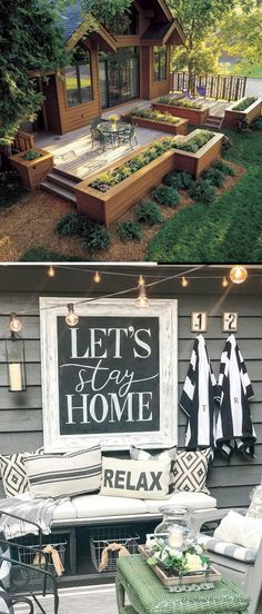 Build Your Deck And Save On The Cost Cool Deck, Diy Deck, Diy Crafts For Gifts, Decor Crafts, Cheap Diy Home Decor, Lets Stay Home, Deck Decorating, Bbq Party, Do It Yourself Projects