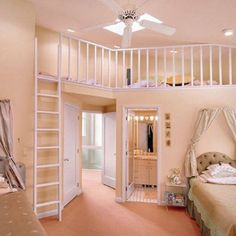 If i could have this then wow. It said Cute little girls room. The closest I've ever had to my own room was dressers spliting my mom and I's beds. That was like 5 inches so the smallest mess would be bad but it took 2 seconds to clean :)