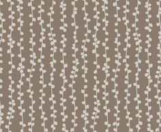 See our String of Pearls Prime Parchment OP on Clay fabric available from Design Team.