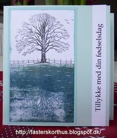 Fasters korthus: Træ ved floden