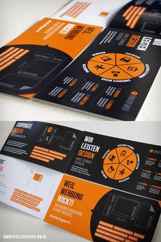 Orange Brochure Design
