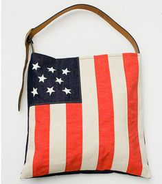 American Flag Tote from Made By Hank