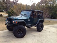 Great fall day to drive the jeep!