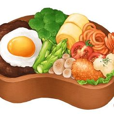 Shrimp Tempura, Food Menu Design, Food Painting, Food Drawing, Food Illustrations, Desert Recipes, Japanese Food, Bento, Food Art