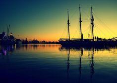 Placid Dusk Sail at Dawn #metalprint #metalart #art #displate #longbeach #lbc #tolemour #rainbowharbor #shorelinevillage #california #photography #sunset #sailing #sail #ship #placid #dusk