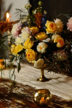 Dutch Masters Inspired Floral Centerpiece
