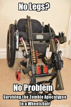 Bug Out Vehicles: Zombie Attack Wheelchair