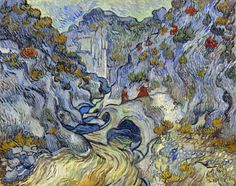 "Vincent van Gogh (1853-1890), ""The Ravine"" (""The Peiroulets"") - Kröller-Müller Museum ~ Otterlo, The Netherlands"