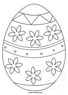 """Free Printable Easter Bunny Coloring Pages from Easter Coloring Pages. Easter is a celebration of Christians who commemorate the event of Jesus Christ being revived (or """"resurrected""""). Easter celebrations are popular wit. Easter Coloring Pictures, Easter Bunny Colouring, Easter Egg Coloring Pages, Spring Coloring Pages, Coloring For Kids, Easter Egg Template, Easter Templates, Kindergarten Coloring Pages, Easter Arts And Crafts"""