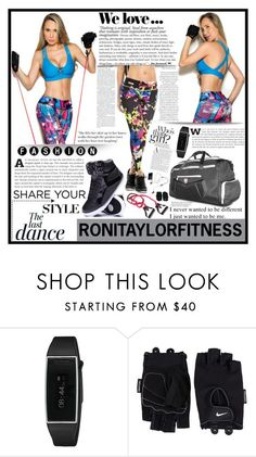 """RONITAYLORFITNESS.3"" by samirhabul ❤ liked on Polyvore featuring Zara, Anja and NIKE"