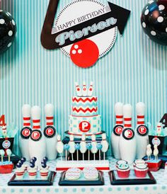 Party Frosting: Bowling Party Ideas/Inspiration