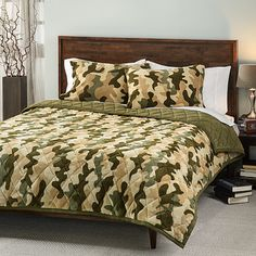 Camouflage 3-piece Comforter Set | Overstock.com Shopping - Great Deals on Kids' Bedding
