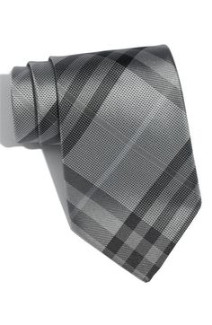 Burberry London Woven Silk Tie.