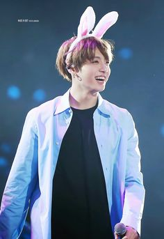 Bunny Jungkookie~❤ BTS THE WINGS TOUR~ 2017 BTS Live Trilogy Episode lll In Chicago, USA~ (170329) #BTS #방탄소년단