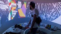 Чтобы показать, что за новой коллекцией Adidas Originals Supestar 2015 стоят 4 всемирно известных дизайнера, мы сделали тач-кроссовки и интерактивную проекцию по мотивам работ художников. Внутри гигантского кроссовка Adidas Originals мы создали пространство, в котором гостимогли узнать,кто именно создалтот или иной дизайн. Прикосновение к тач-кроссовку запускало на экране красочную анимацию с рассказом о художнике. А это были Zaha Hadid, Todd James, Mr. и Pharrell Williams…