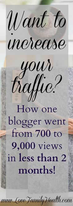 How one blogger went from 700 to over 9,000 page views in less than two months!