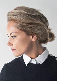 Little White Collar Collars For Women, White Collar, Little White, Woman, How To Wear, Fashion, Moda, Fashion Styles, Fasion