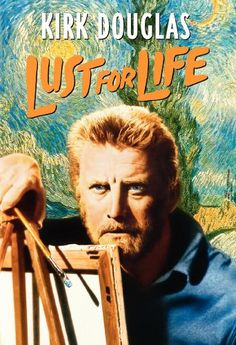 Lust For Life, 1957 Golden Globe Awards Best Actor in a Motion Picture - Drama winner, Kirk Douglas #GoldenGlobes #GoodMovies #Movies