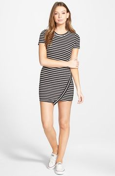 dee elle Asymmetrical Body-Con Dress available at #Nordstrom