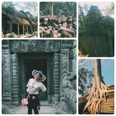 At Ta Phrom Temple  #Travel #Traveller #Trip #Backpack #Backpacker #Adventure #TaPhrom #TaPhromTemple #Temple #AngelinaJolie #AngkorWat #AngkorThom #SiemReap #Amazing #Cambodia #vscocam #vscocamphotos #photo #photooftheday #photograph #LaraCroft #Treasure by jodiereeya