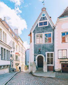 Exploring Talinn, Estonia.