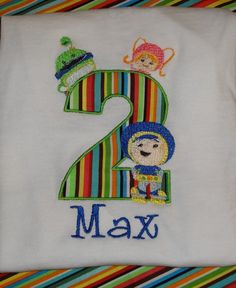 Boys Team Umizoomi birthday shirt by SweetBellaz on Etsy, $22.00