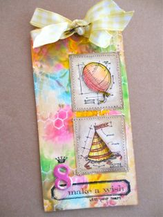 One Lucky Day: Distress Paints http://www.2gypsygirls.com/2013/02/can-you-saydarling.html