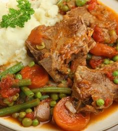 French Lamb Stew #Tastebudladies #Lamb