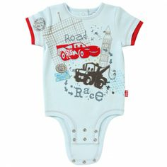 Disney Cuddly Bodysuit™ with Grow-An-Inch-Snaps™ CARS