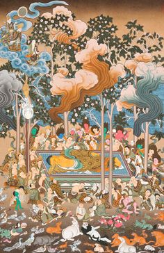Find elegant Thangka Paintings of Buddha & other such exquisite Indian Artwork at ExoticIndia, the largest online store for Indian Paintings & Art. Thangka Painting, Buddha Painting, Buddha Art, Indian Artwork, Indian Paintings, Vajrayana Buddhism, Dragon Pictures, Thai Art, Hindu Art