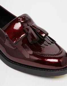 Image 4 ofNew Look Patent Tassel Loafer