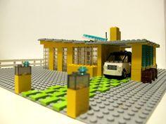 Modern Lego homes!