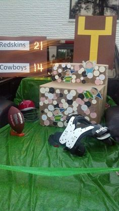 Another Football Trunk Great Idea If You Have A Pick Up