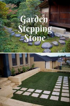 Creative DIY stepping stones projects #gardenstones Garden Steps, Easy Garden, Amazing Gardens, Beautiful Gardens, Garden Stepping Stones, Sidewalk, Diy, Ideas, Creative