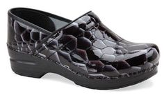 Dansko 'Professional' Patent Leather Clog Onex Tigers Eye $98.90