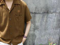 ビンテージ レーヨンシャツ【DaVinci】【1960's~1970's】Vintage Rayon Shirts - RUMHOLE beruf online store