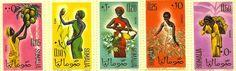 """ Somali postage stamps """