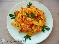 A gentleman with a recipe photo Hungarian Cuisine, Hungarian Recipes, Green Eggs And Ham, Potato Recipes, Food Photo, Cauliflower, Macaroni And Cheese, Casserole, Cabbage