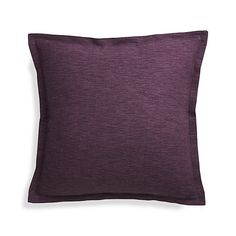 Shop Linden Indigo Blue Pillow.  Our Linden pillows are intricately detailed and handcrafted exclusively for Crate and Barrel.  To craft these beautiful textiles, artisans begin by boiling, washing, and bleaching each strand of yarn.
