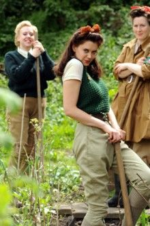 """""""Britches and Hoes: Land girls fashion garden clothes""""  brilliant!!!!"""