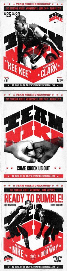 advertising set | Team #Nike Basketball by AJ Dimarucot