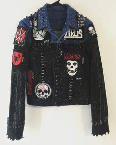 Punk Rock jackets from ChadCherryClothing.