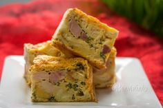 Pinterest Slovak Recipes, Czech Recipes, Ethnic Recipes, Spanakopita, Sweet Recipes, Quiche, Ham, Sandwiches, Brunch
