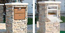 Column Mailbox | Brick Mailboxes